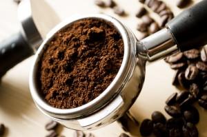 zmielone ziarna kawy